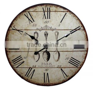 2014 New MDF wall clock