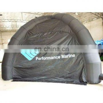 black Inflatable tent, inflatable mobile tent, inflatable medical use tent,