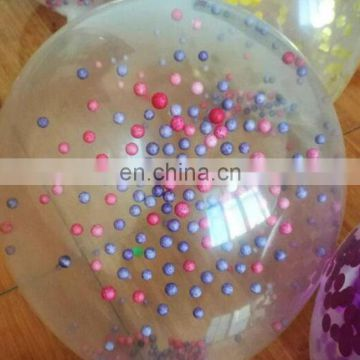confetti balloon 12 inch 36 inch clear transparent wedding party decoration confetti balloon
