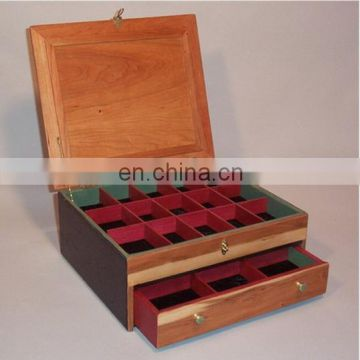 Luxury high quality popular fashion pine wood wine boxes