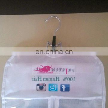 PP Woven Fabric Hair Extension Packaging With Laminated hair company names