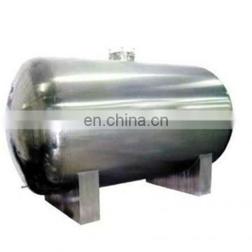 factory direct sale FCG 100-15,000L sanitary food storage tank stainless steel water storage tank (CE certificate)