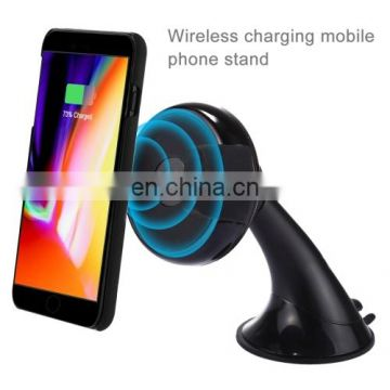 Universal 360 Degree Rotate Car Wireless Charger Phone Holder Stand Mount Ship Time Lead Time: 1~3 Days. For iPhone and others