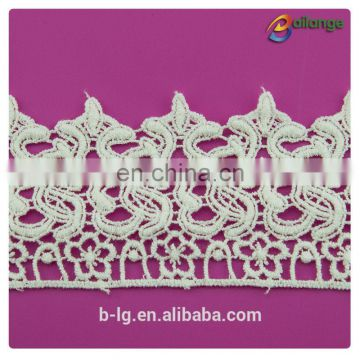 2016 wholesale Chemical Procuct type lace 100% Cotton Lace French Lace