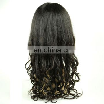 Aliexpress wholesale loose wave philippine virgin human hair full lace wig indian women hair wig