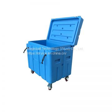 wuxi factory dry ice cooler box