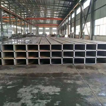 Black Steel Bar Erw Welded Galvanized Square Tubing Black Square Tubing