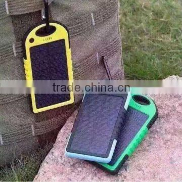 500mA double office plug USB insert portable phone charger solar cell phone battery charger