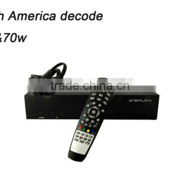 Globo HD405 south american free satellite tv W61 W70 decode hd-receiver  cccam digital satellite