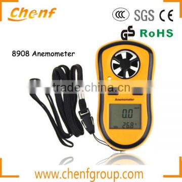 Hot Sell High Quality Digital Wind Speed Meter Anemometer CF8908 with LCD Display