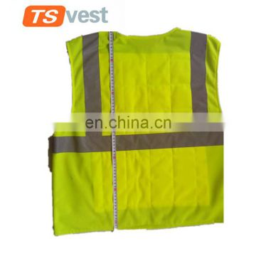 Cooling safety vest