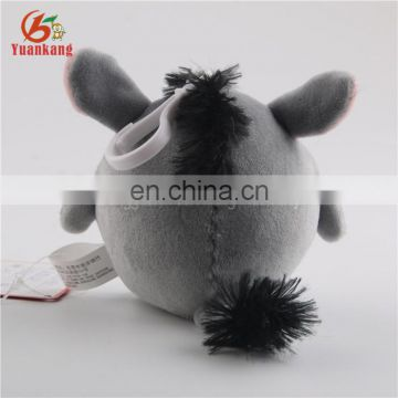 Lovely Supersoft Plush Small Donkey Baby Toy-Gray