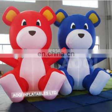 lovely inflatable twin bear