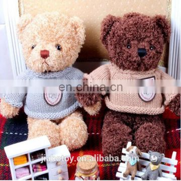 2015 hot selling Animal big toy stuffed Teddy bear high quality wholesale price teddy bear custom stuffed toy cartoon logo