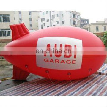 inflatable Airship balloon with helium size 4mL,helium zeppline