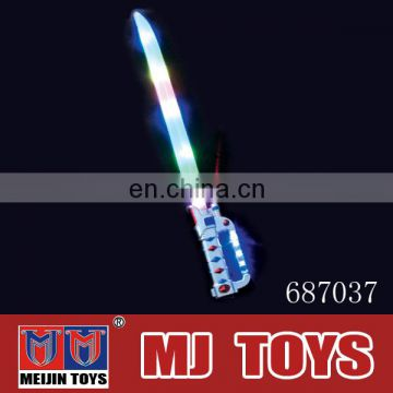 Safe toy weapon flash sword toys with cool music