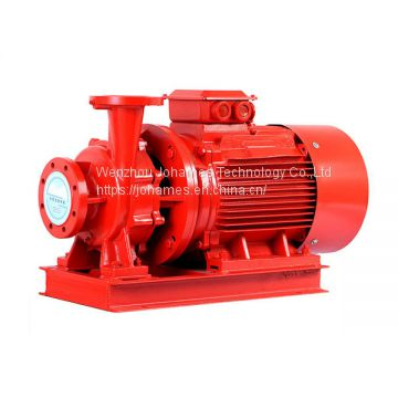 ISW fuel oil transfer pump horizontal inline centrifugal pump