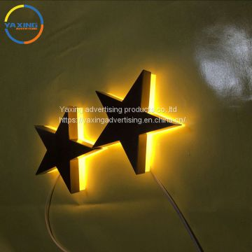 Waterproof LED Modules Light source and Customized Letter Sign Size custom restaurant signs outdoor light box letters