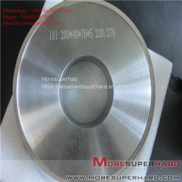 1A1 200*40*76*50 Grinding wheels for magnetic materials  Alisa@moresuperhard.com