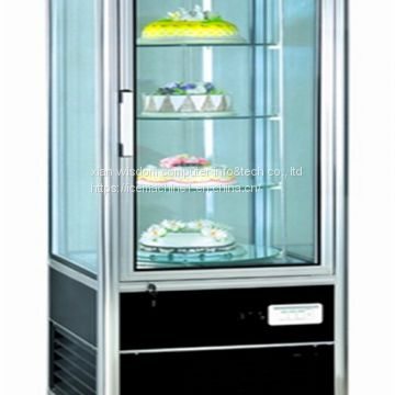 Universal Caster Wheel Refrigerated Display Cabinets 1200*1130*1350mm