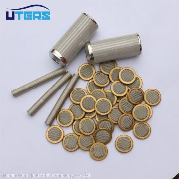 UTERS  Precision instrument servo valve  probe filter element UTERS-17 Accept custom
