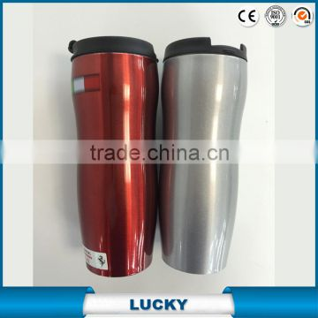Promotional custom double walled insulated stainless steel oem coffee tea mug with Starbuck model