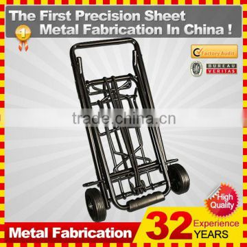 kindle 2014 new durable folding professional customized 180l metal shopping cart for sale