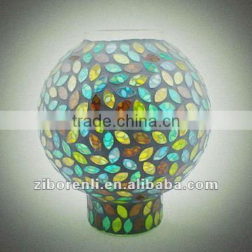 Mosaic candle shade