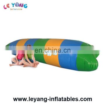 Inflatable Launch For Water Sports , 20' Mult Color Jumping Water Blob