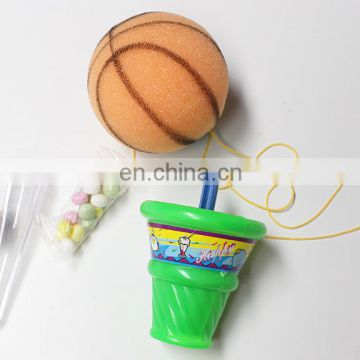 Foam Catch ball plastic toy for confectionery