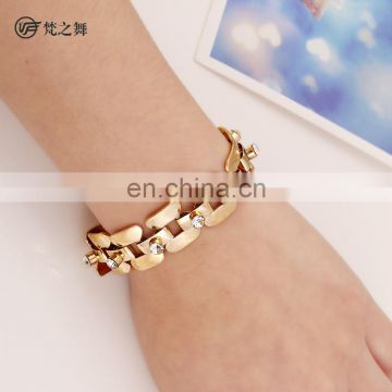 P-9092 Gold performance women belly dance bangle