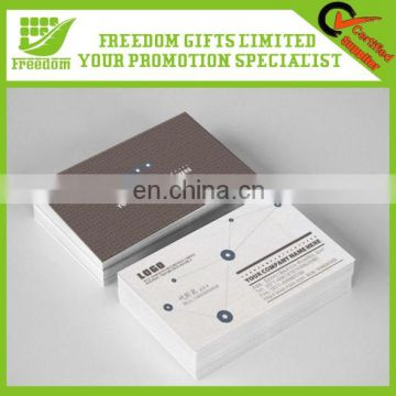 High Quality Smart Logo Printed Paper Busniess Card