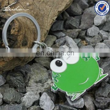 HIGH END METAL GREEN CHRISTMAS GIFT CUTE FROG KEYCHAIN
