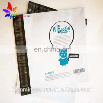 New Custom Envelopes plastic shipping bags with self Adhesive Waterproof and Tear-proof postal bags