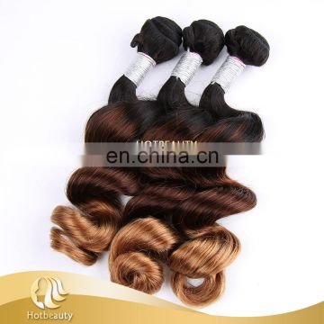 3 Tone Color Loose Wave Loose Wave No Mix Animal Hair