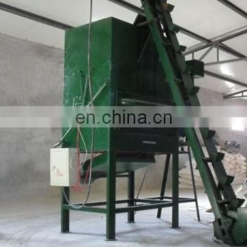 New design automatic feed pellet dryer animal feed pellet production line equipment air dryer and bucket elevator