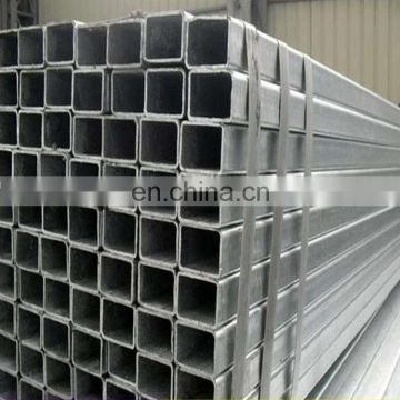 Pre galvanized steel square hollow section galvanized square tube price