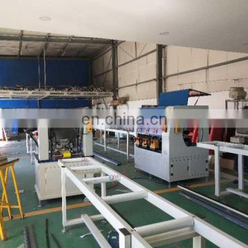 Excellent thermal break aluminum knurling machine with strip insertion