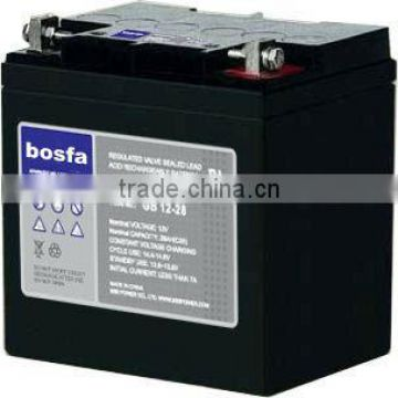 12v 28ah ups gel battery thick plate lead acid battery in turkey