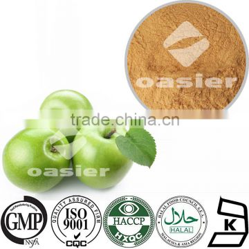 Chinese Natural High Quality TOP FRESH Origin(Shaanxi)Natural Apple Extract 75% Polyphenols UV