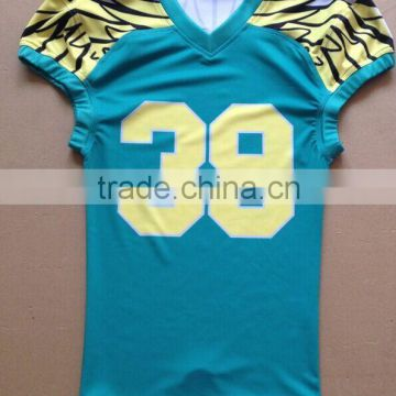 2016 Fashion customized sublimation American football jerseys custom american football uniforms dry fit football jersey                                                                                                         Supplier's Choice