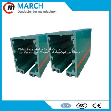 box busbar insulated condcutor rail for crane, hoist
