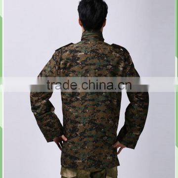 Manufacture Camo Military uniforms Coat Cold weather man's field American M65 Army Jackets M65 Field jacket with Lining