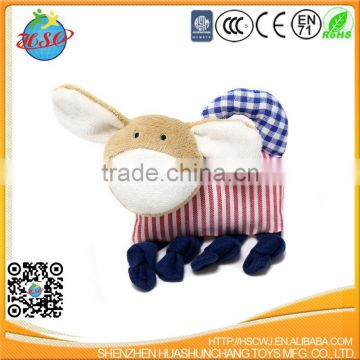 Direct Manufacturer Plush Dog Animal Saliva Towel Doudou Baby Gift