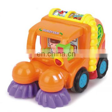 Mini toys kids cartoon friction power professional car