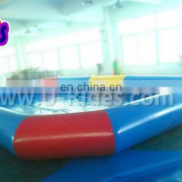 inflatable single ring pool