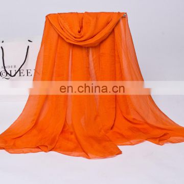 2016 New Spring Fashion chiffon scarf long lady pashmina scarf factory price hot sale