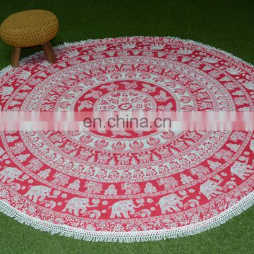 India Price Round Table Cover Custom Restaurant Table Cover