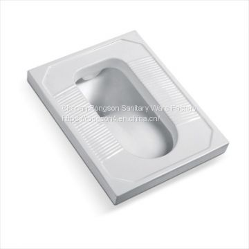 Wholesale bathroom cheap ceramic white squatting pan wc