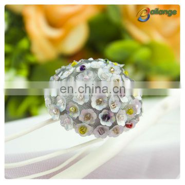 Bailange handmade accessories beaded decorative one hole button